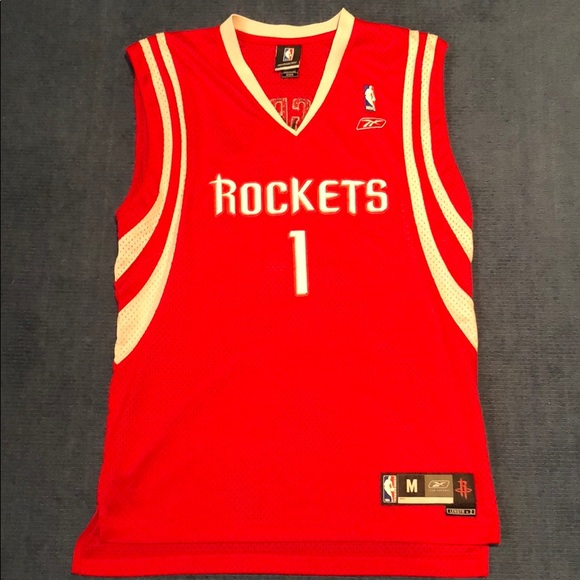 free shipping 25767 37236 Tracey McGrady Houston Rockets Home Jersey